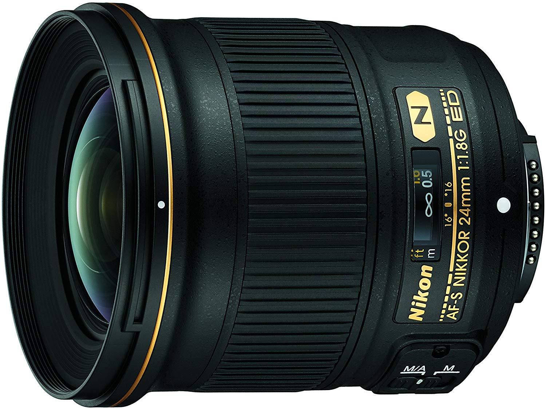 Objetivo Nikon 24mm f1.8 a precio mínimo de Amazon