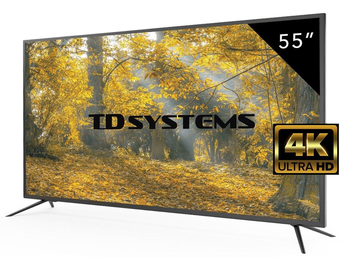 """Televisión 55"""" Ultra HD 4K"""
