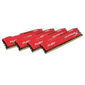 Memoria HyperX Fury 32Gb Ddr4 2666Mhz Kit CL16