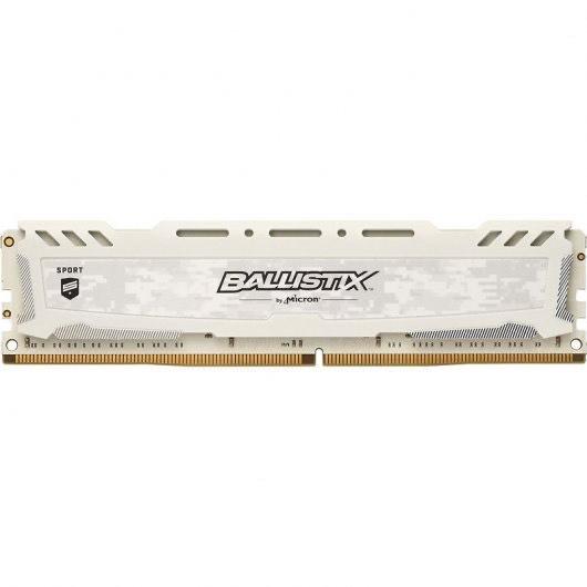 Crucial Ballistix Sport LT White 4GB DDR4-2400