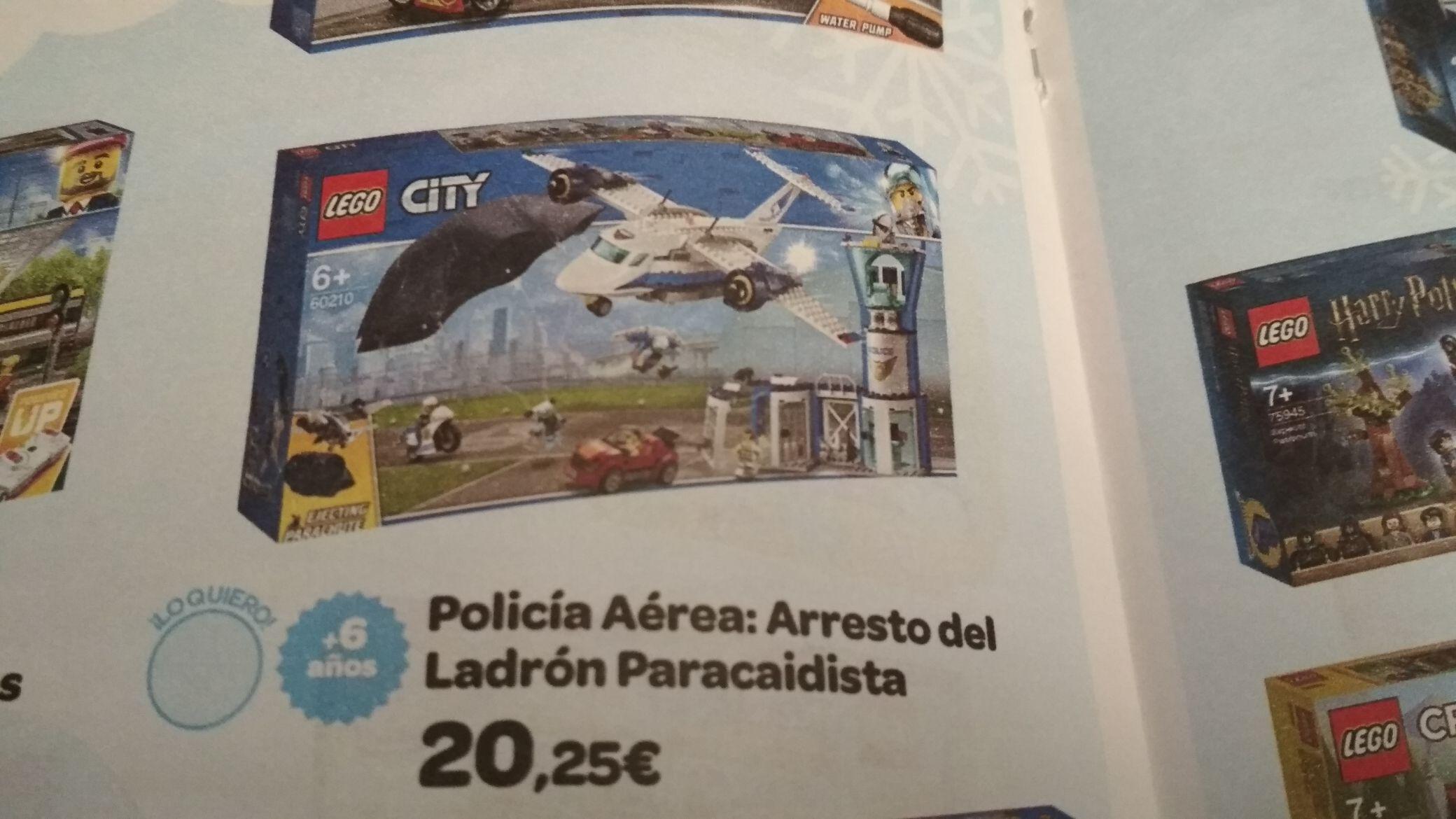 Lego Policía Aérea. Base de operaciones (Catalogo carrefour)