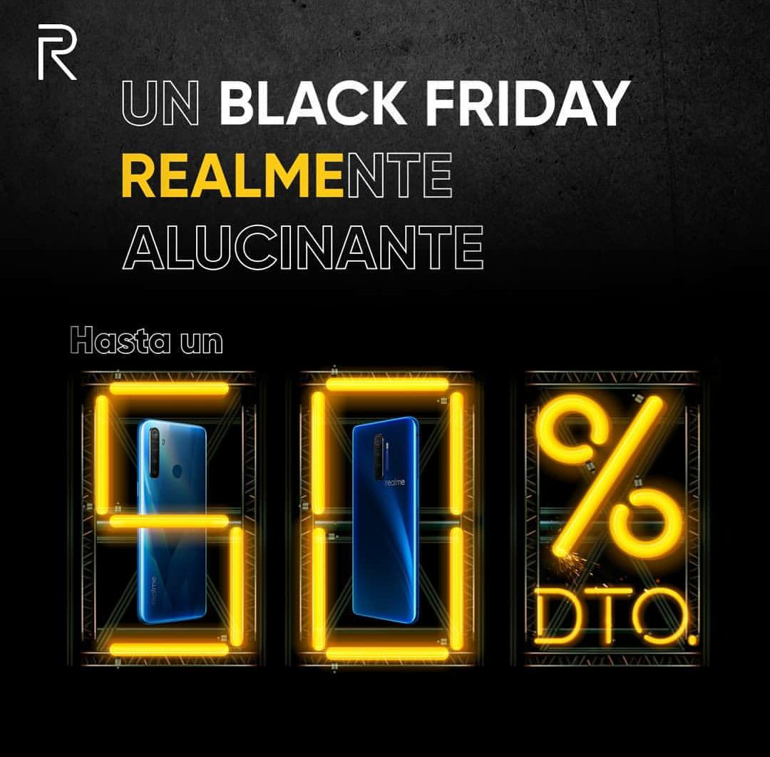 Black Friday Realme España