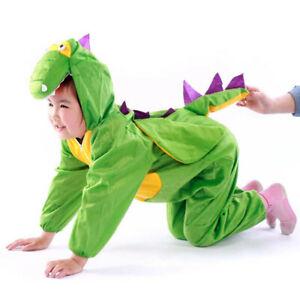 Bebé/Niño Disfraz de Dinosaurio Infantil Animal. Suave. Regalo Navidad