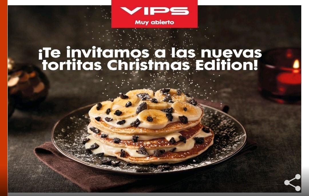 Tortitas de Navidad gratis en VIPS para socios oro