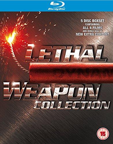 Pack Blu-Ray 4 pelis de Arma Letal