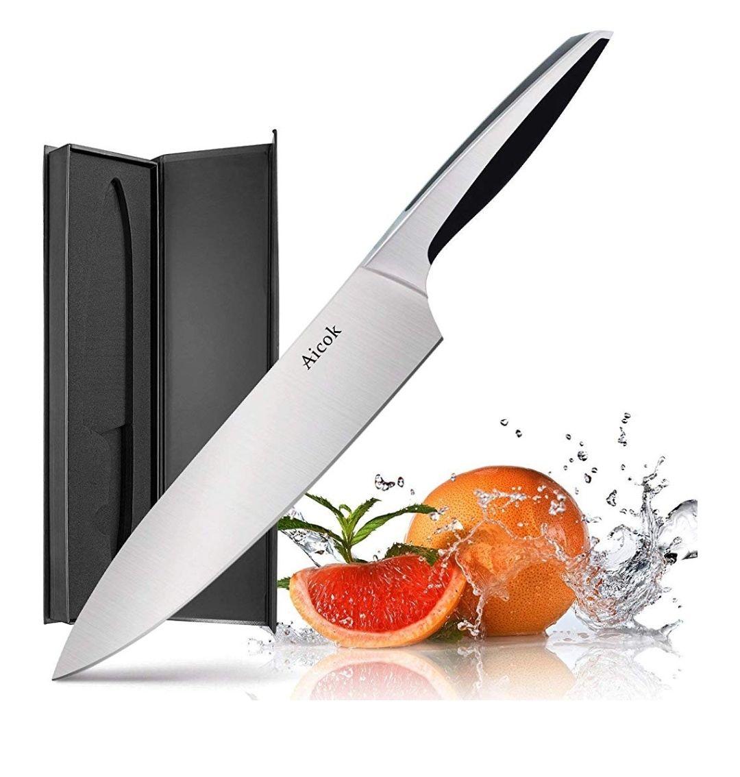 Cuchillo Aicok 20cm Inox