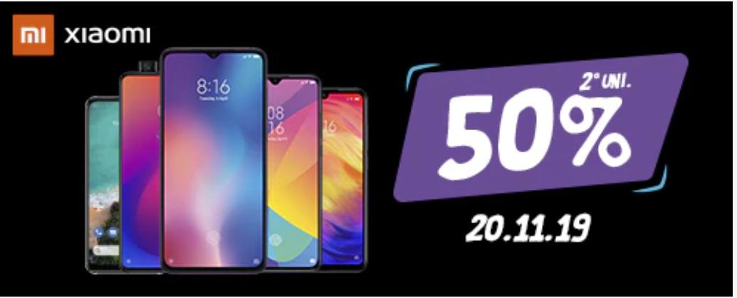 2° Unidad móviles Xiaomi 50% [20.11]