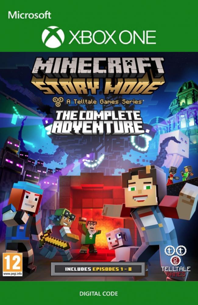 XBOX ONE: Minecraft Story Mode Complete Adventure (descarga digital)
