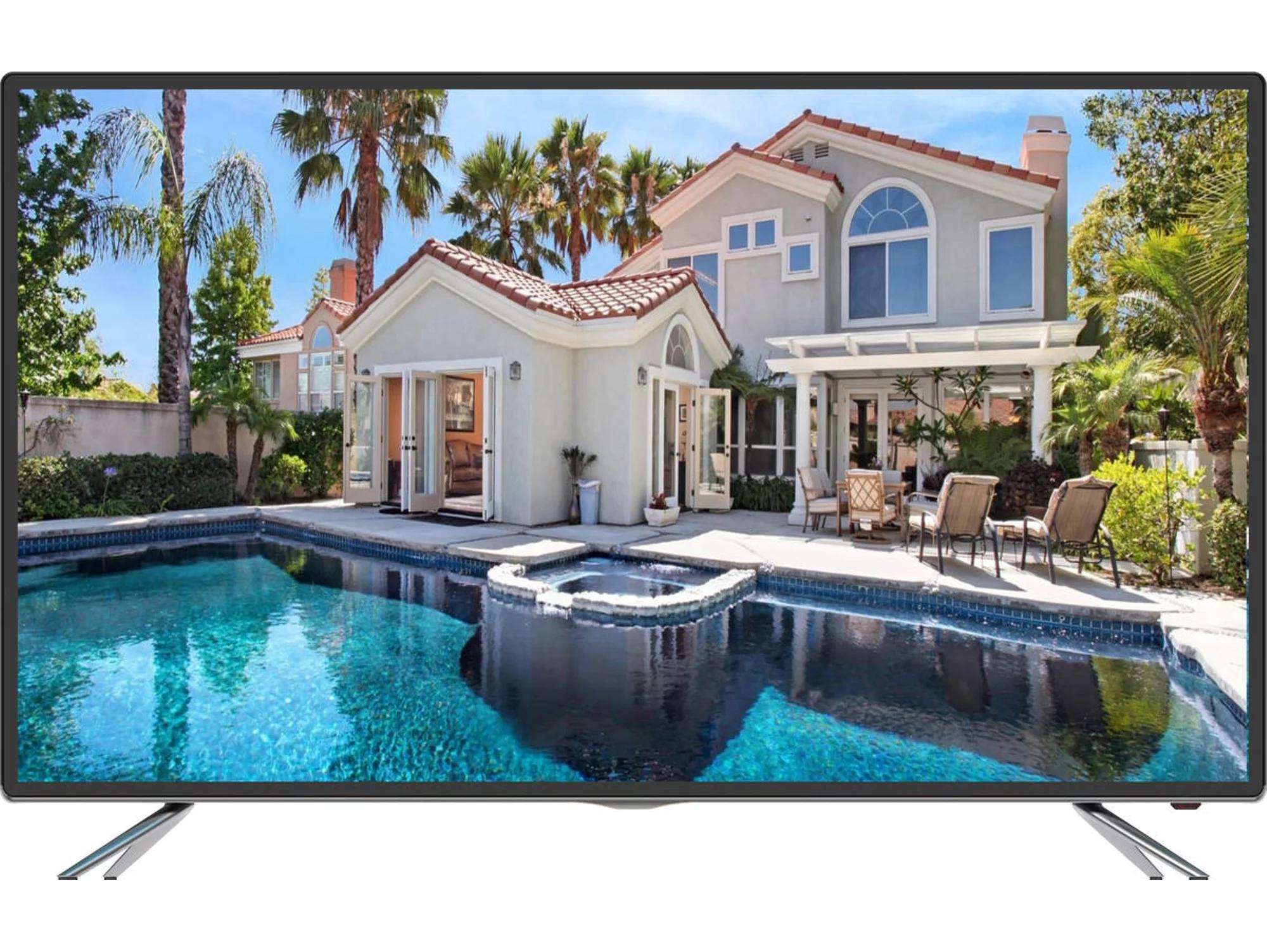 TV SMART TECH 55'' LED - 4K Ultra HD - Smart TV
