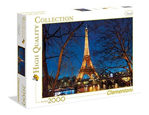 Puzzle 2000 piezas clementoni siempre nos quedará París