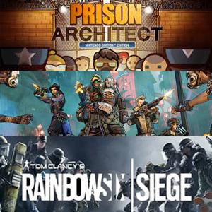 Juega gratis Xbox: Prison Architect, Borderlands 3 y Tom Clancy's Rainbow Six Siege