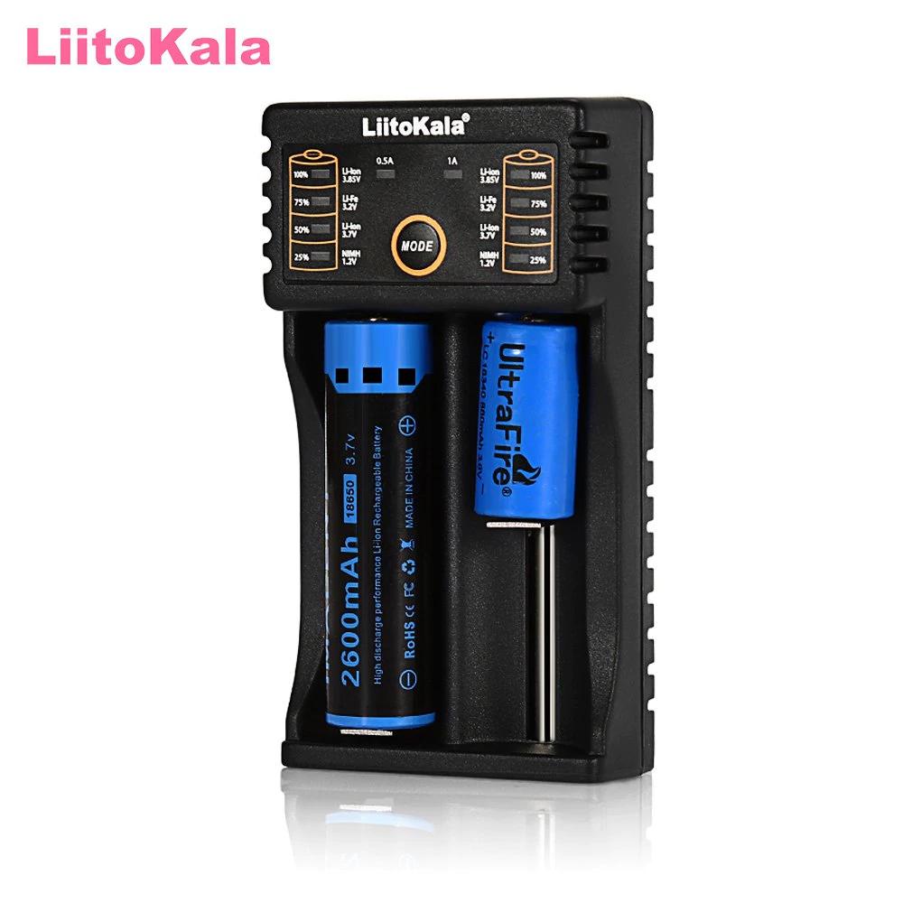 Cargador pilas LiitoKala Lii - 202