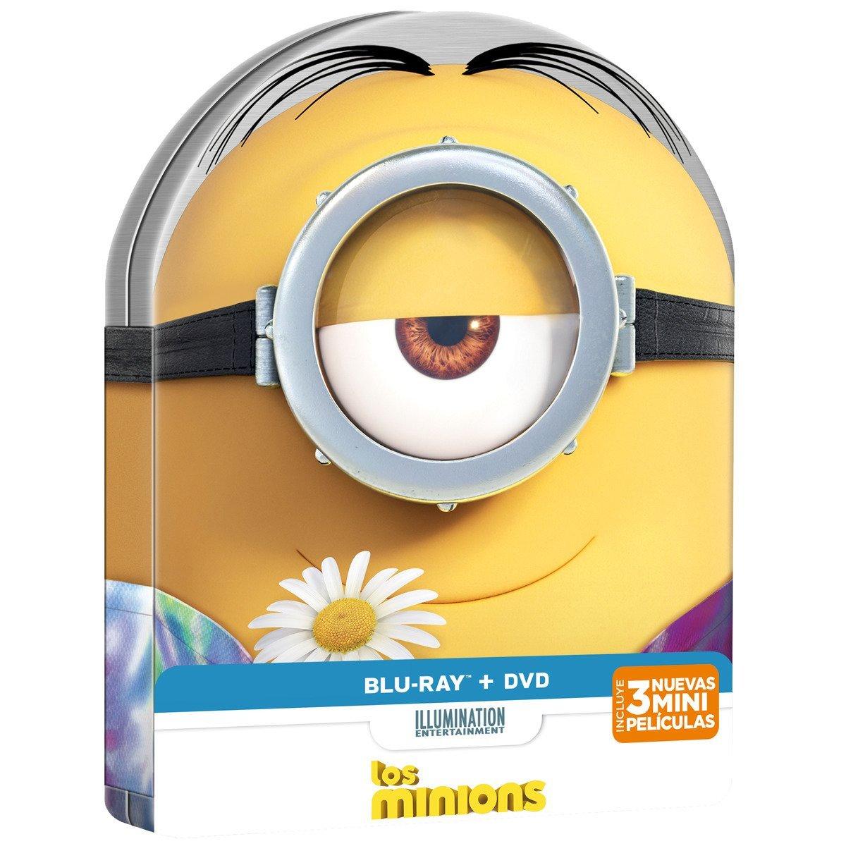 Los Minions (Blu-Ray + DVD, formato steelbook)
