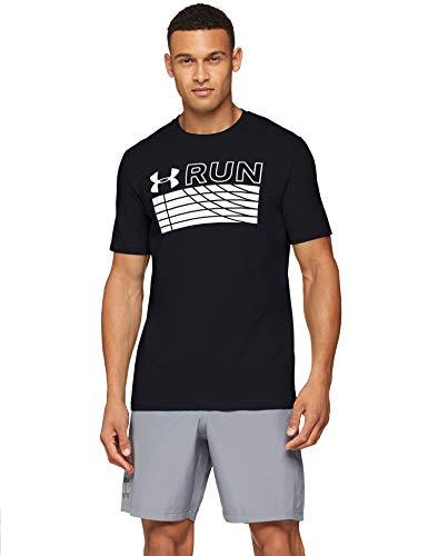 TALLA M - Under Armour Run Track Graphic - Camiseta para Hombre