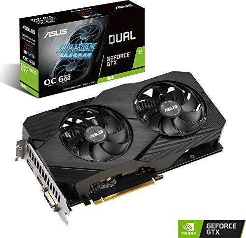Asus Dual GeForce GTX 1660 EVO OC 6GB GDDR6