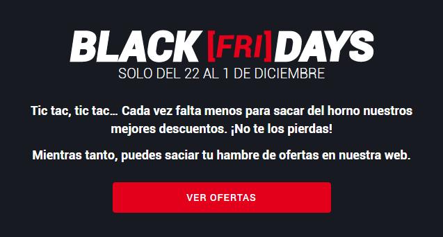 Black Friday en Telepizza