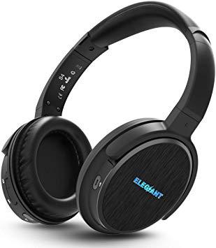 Auriculares Bluetooth Diadema, ELEGIANT Cascos Inalámbricos con Micrófono