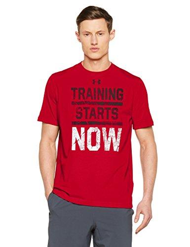TALLA S - Under Armour UA Training Starts Now SS T Camiseta de Manga Corta, Hombre
