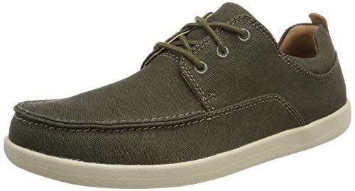TALLA 44 - Clarks Un Lisbon Lace, Zapatos de Cordones Derby para Hombre