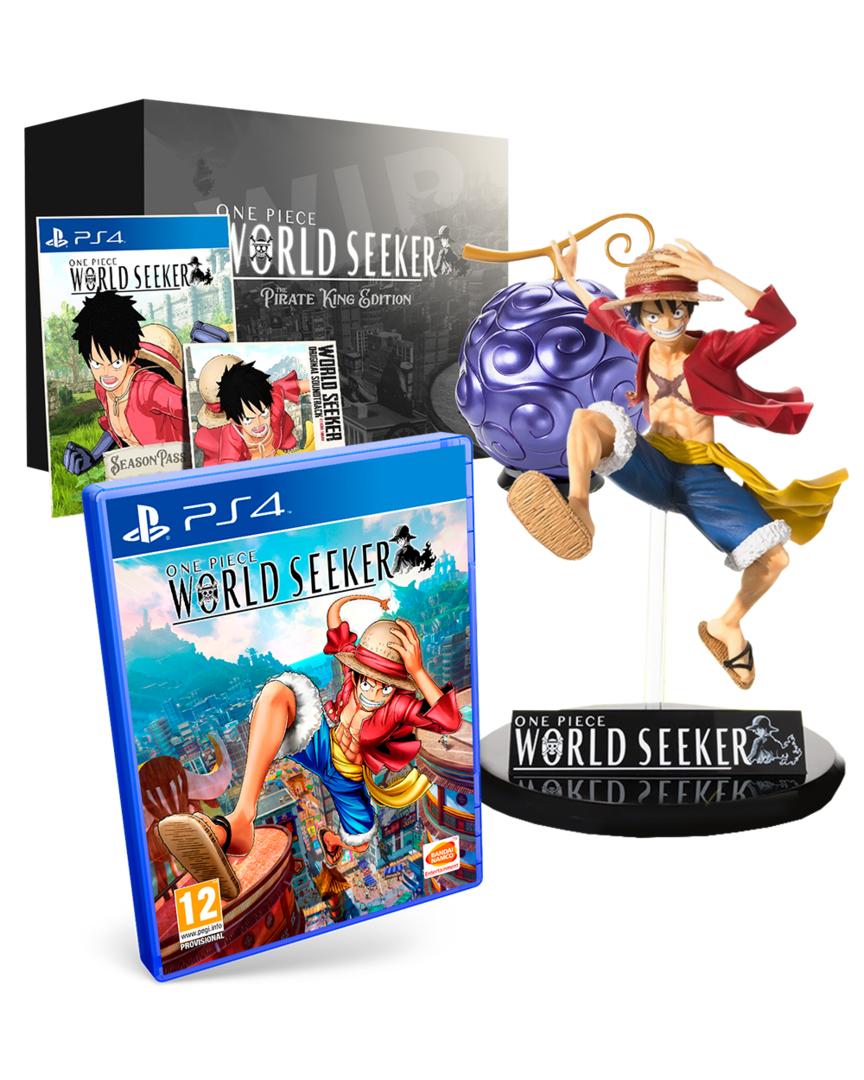 One Piece: World Seeker Edición El Rey Pirata PS4