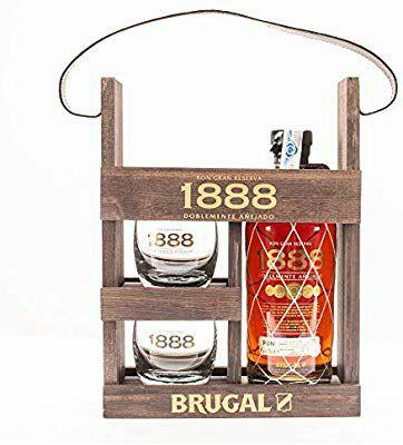 Brugal 1888 - Ron, 2 Vasos Incluidos, 700 ml