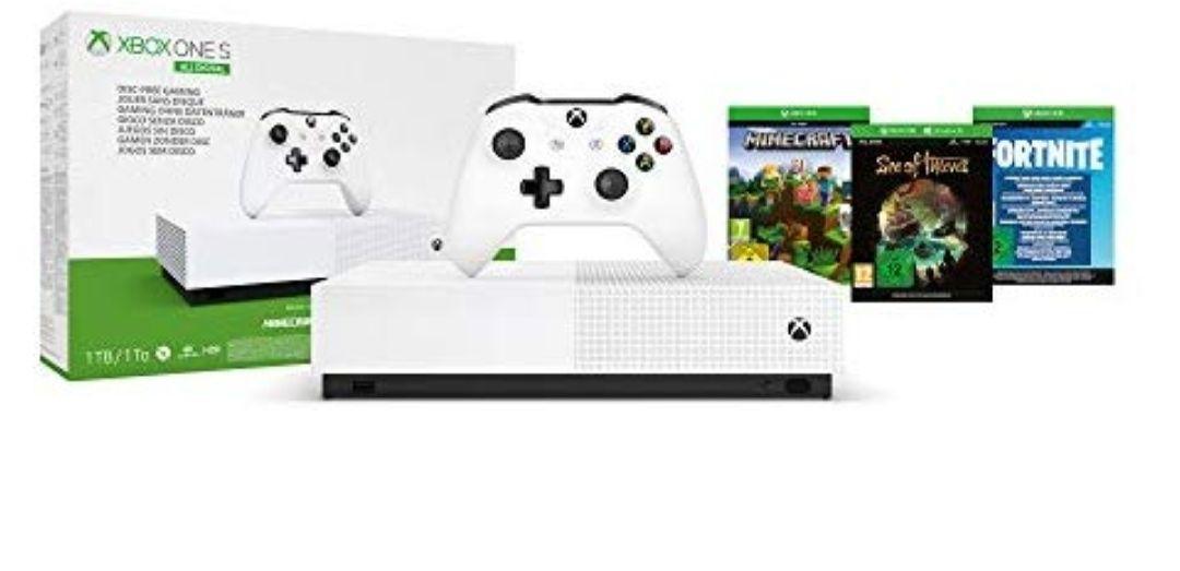 Xbox One S 1 TB All-Digital Edition+3juegos