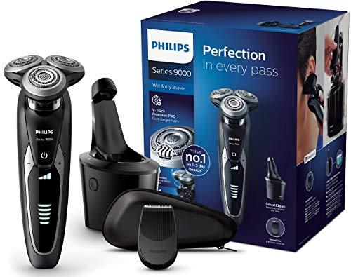 Philips Serie 9000 S9531/26 - Máquina de afeitar con cabezales de 8 direcciones