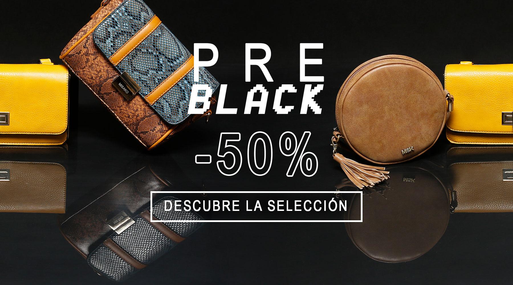 Pre Black de Misako con -50%