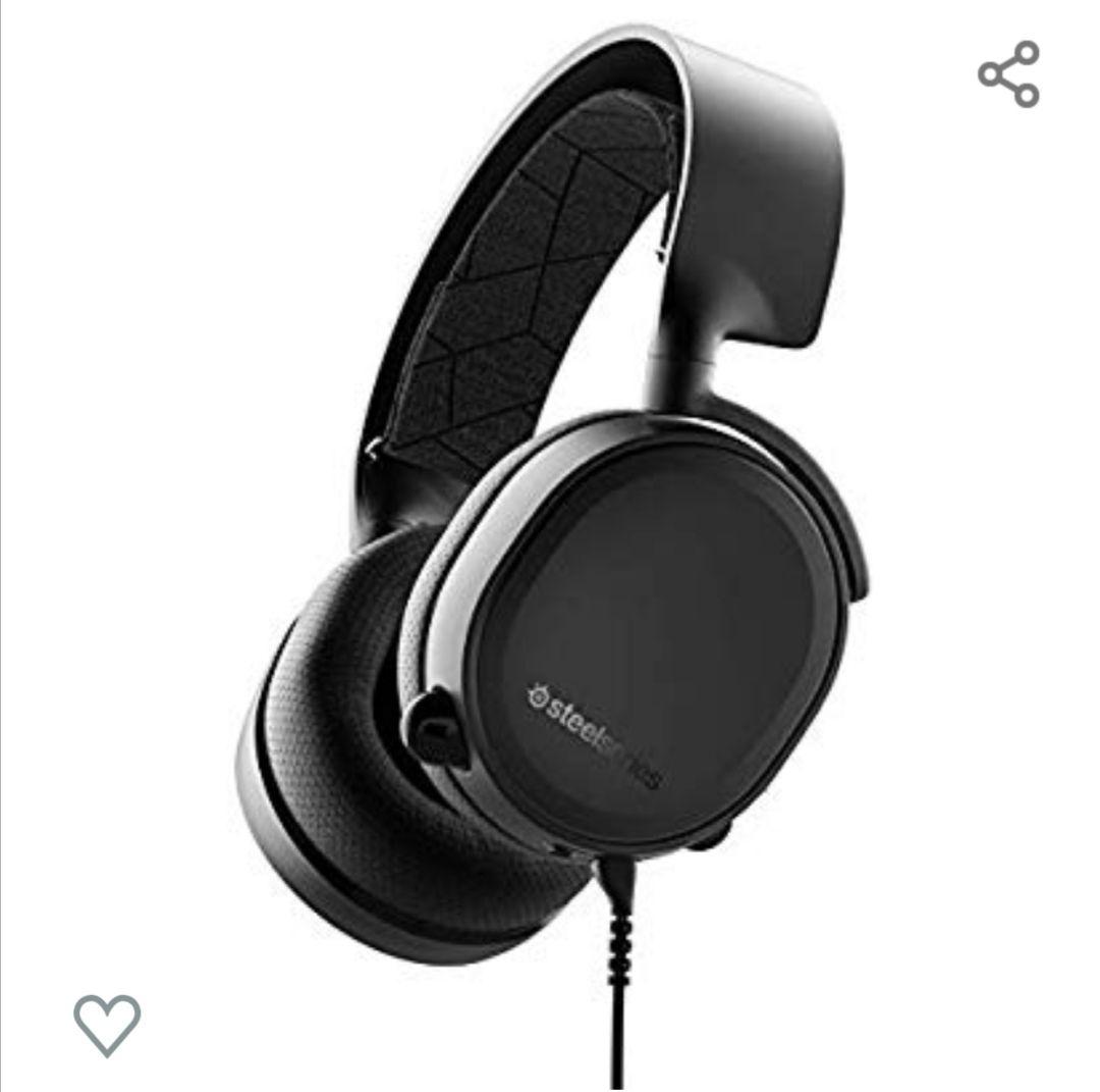 SteelSeries Arctis 3 - Auriculares de Juego Multiplataforma Negro [Edición 2019]