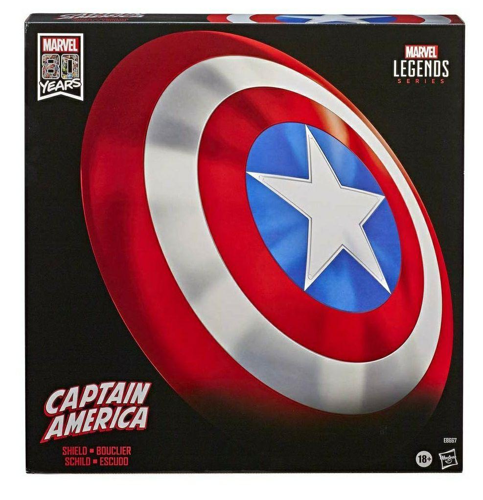 Escudo capitán América Marvel Legends hasbro