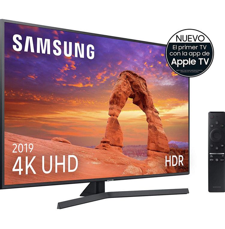 "Samsung 4K UHD 2019 50RU7405, serie RU7400 - Smart TV de 50"" con Resolución 4K UHD"