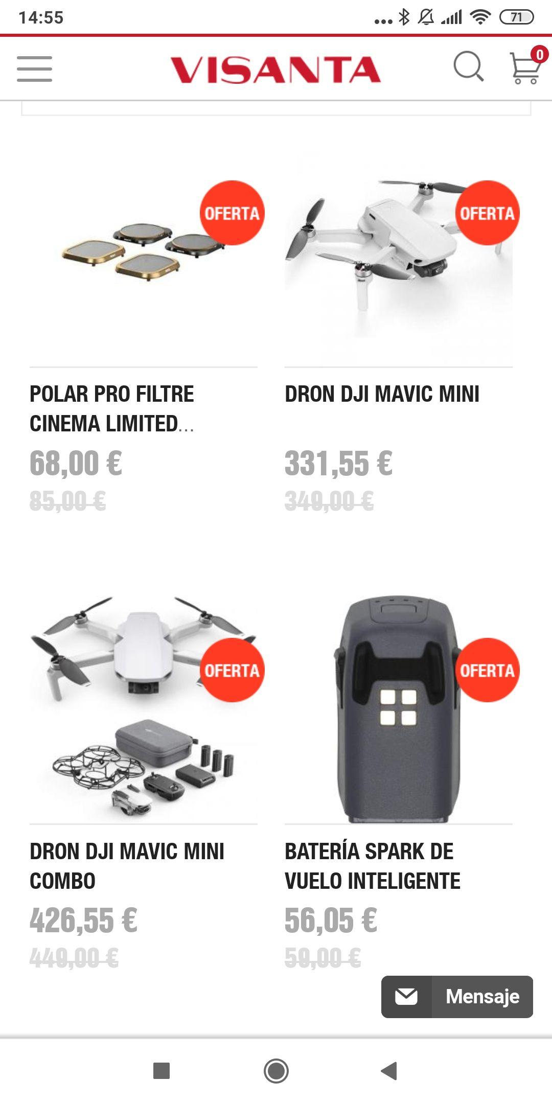 Mavic mini Combo 426,55