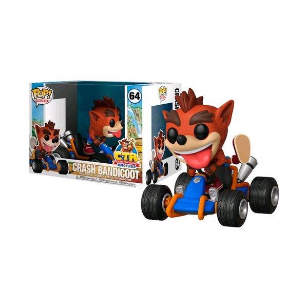 Crash Bandicoot Kart Funko pop! solo 9.9€