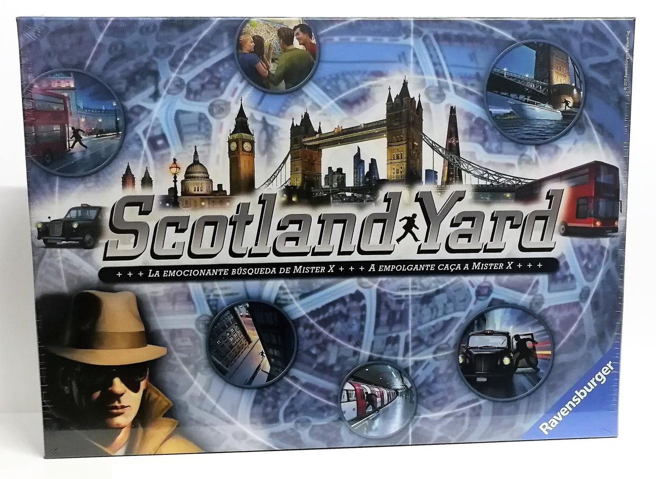Scotlandyard juego de mesa solo 15€