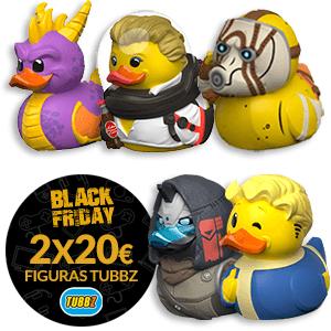 2x20€ en patos Tubbz [entre 20 opciones]