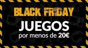 Pre-Black Friday en GAME - Juegos por Menos de 20€