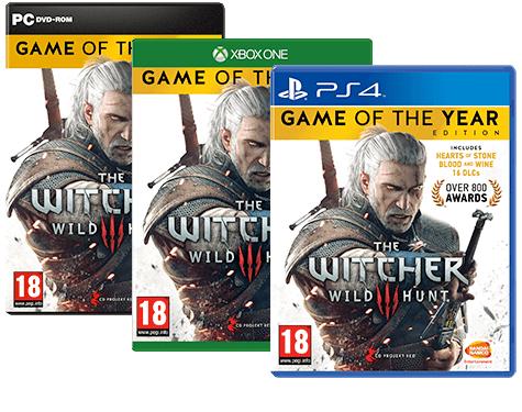 THE WITCHER 3: WILD HUNT GOTY (PC, XBOX, PS4)