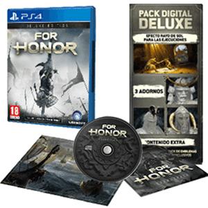 For Honor (Deluxe Edition) + DLCs + Banda sonora + Litografía (PS4)