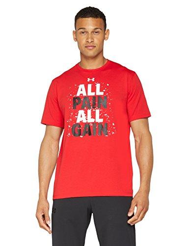 TALLA XL - Under Armour Ua Pain All Gain SS Camiseta de manga corta, Hombre