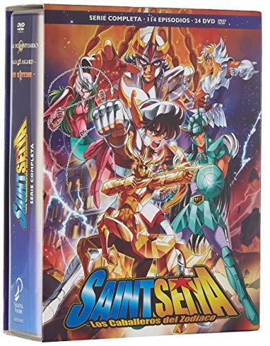Saint Seiya (Los caballeros del Zodiaco) Serie completa 114 episodios en DVD