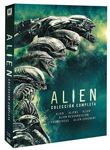 Saga completa Alien 1-6 DVD