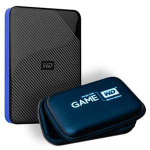 Disco duro externo 4 TB + Funda Western Digital Gaming Drive PS4 con envio gratis