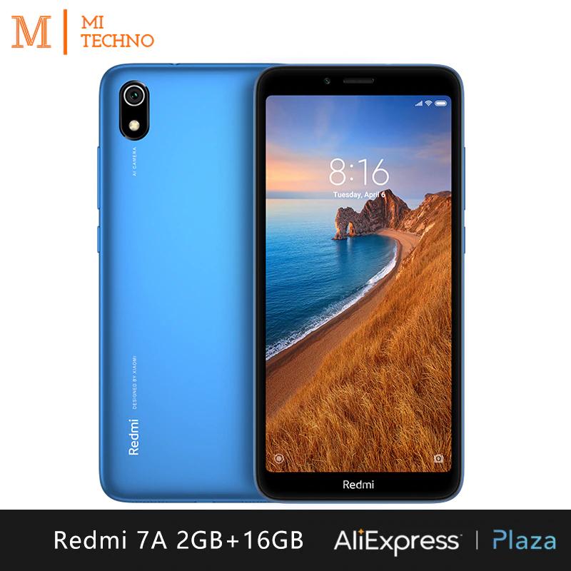XIAOMI REDMI 7A - 2GB/16GB - PLAZA ESPAÑA - 2 AÑOS GARANTIA