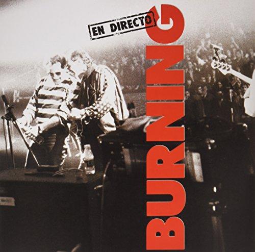 Burning en directo - Vinilo doble