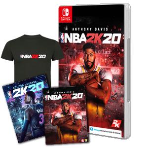 NBA 2k20 switch con regalos