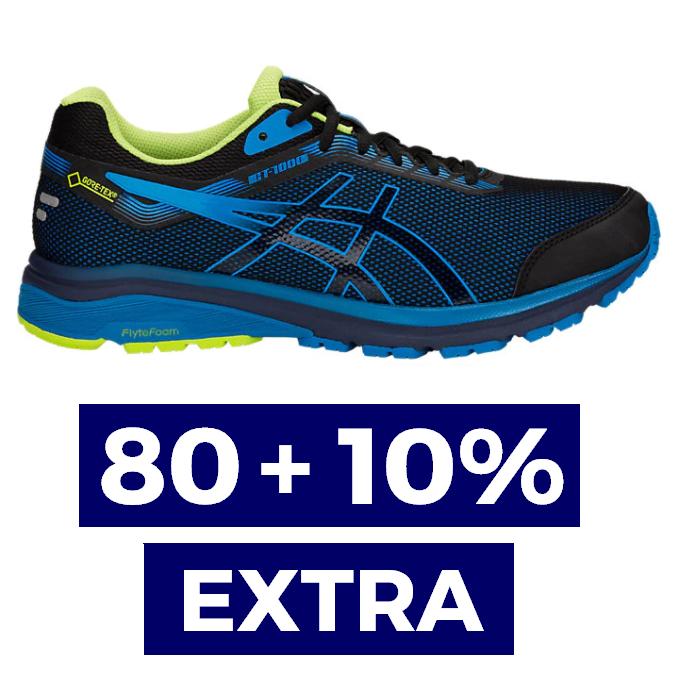 80% + 10% EXTRA en ASICS Outlet
