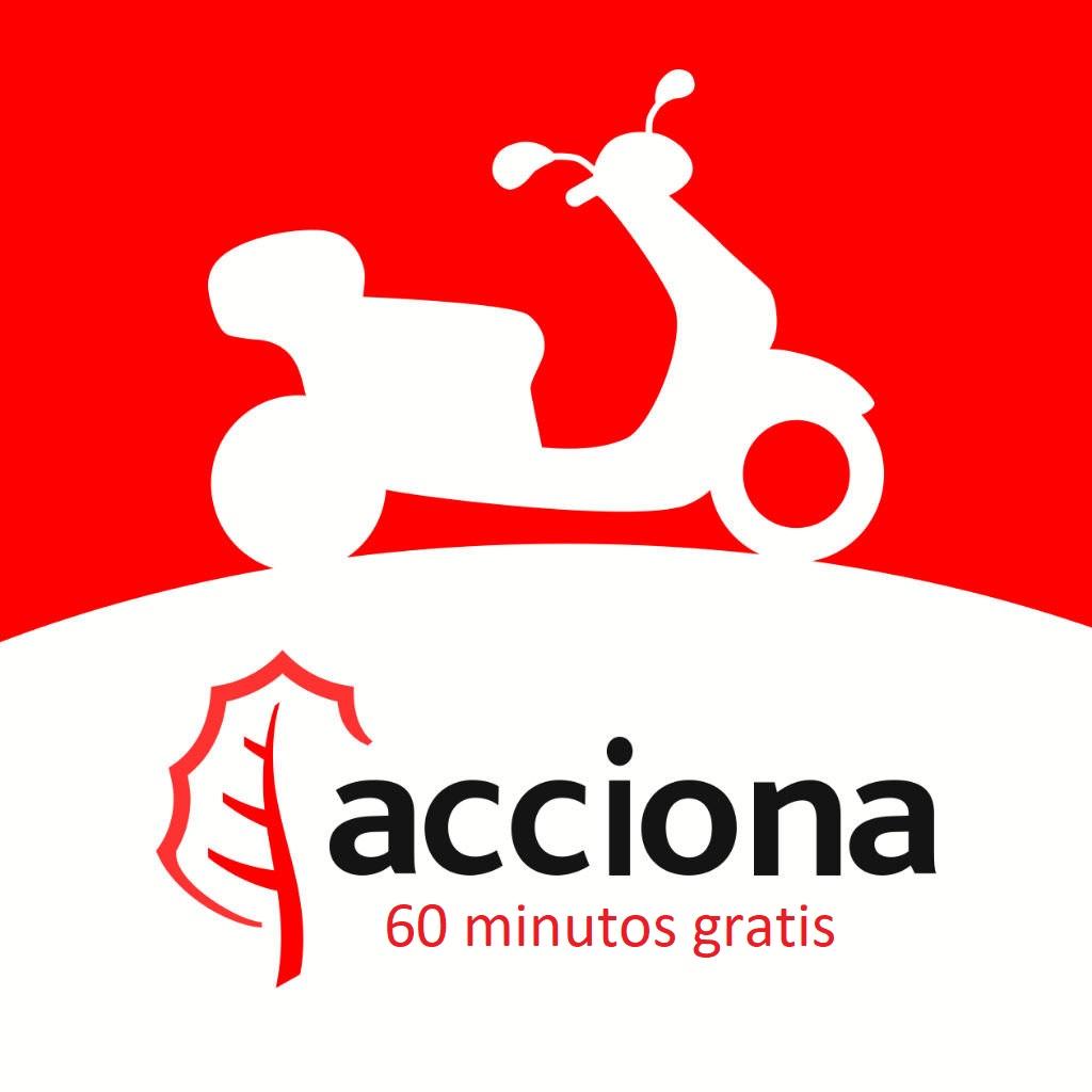 60 minutos gratis Acciona MotoSharing NUEVAS ALTAS