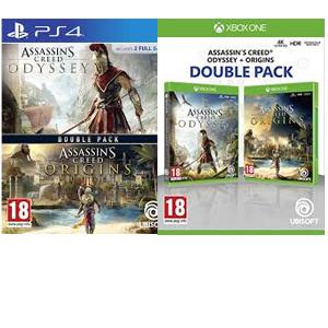 Double Pack: Assassin's Creed Odyssey + Origins (Xbox, PS4, MediaMarkt)