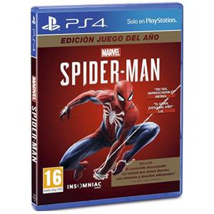 Marvel´s Spider-Man Edición juego del año (Ps4, Físico)