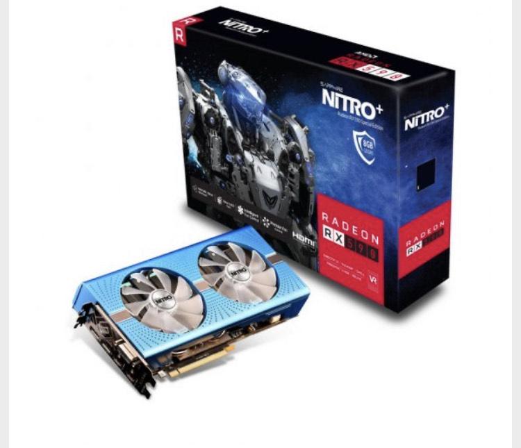 Sapphire Nitro+ Radeon RX 590 8GB GDDR5 Special Edition